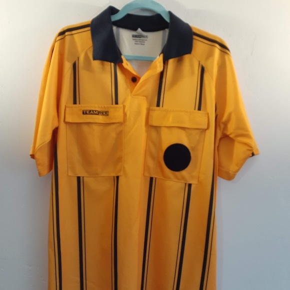 TEAM REF COMPETITION Other - USSF Soccer Referee Shirt Jersey Adult Medium S/S